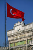 Turkish flag — Stock Photo