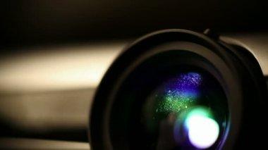 Digital projector — Stock Video