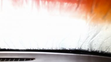 Lavagem de carro — Vídeo Stock