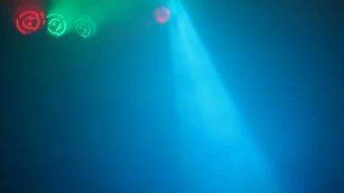 Concert reflectors — Vídeo Stock