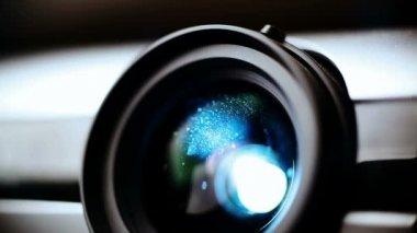 Digitale projector — Stockvideo