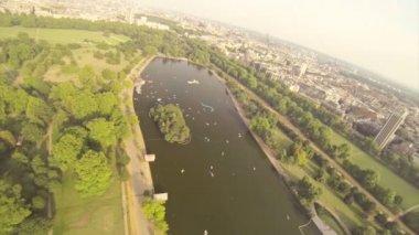 Hyde park — Vídeo de stock