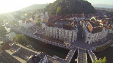 Ljubljana — Stock Video