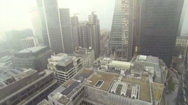 Foggy london — Stock Video