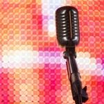Shure mic — Stock Photo #47133855