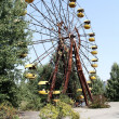 Постер, плакат: Ferris wheel in Pripyat