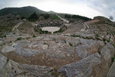 Great amphitheatre in Efes — Stock Photo