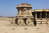Stone chariot at Vittala temple — Stock Photo
