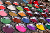 Colorful powder pigments — Stock Photo