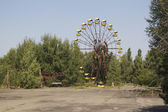 Ferris wheel in Pripyat — Stock Photo