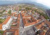 Main square in Kamnik — Stock Photo