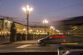 Turin traffic sceene — Stock Photo