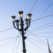 Streetlights in Torino — Stock Photo