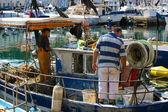 渔民 — 图库照片