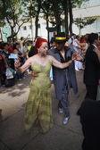 Cuban couple dancing — Stock Photo