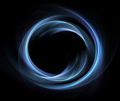 Abstract blue circle — Stock Photo