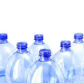 Empty water bottles — Stock fotografie