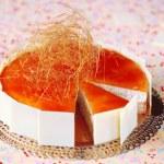 Rice Caramel Mousse Cake — Stock Photo #43555829