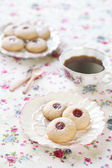 Peanut Butter Cookies with Jam — Foto Stock