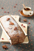Honey and Spice Loaf Cake — Stock Photo