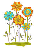 Vector flowers — Stock Vector
