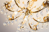 Crystal chandelier — Stock fotografie