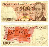 One thousand zlotych, Poland, 1986 — Stock Photo