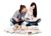 Meninas de estudante — Foto Stock