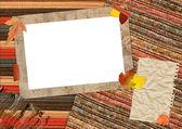 Autumn scrapbook — Stock Photo