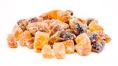Candy brown sugar — Stock Photo