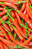 Heap of red hot pepper. — Stock Photo