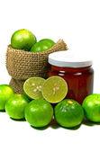 Lemon and Honey, The Alternative Medicine. — Stock Photo