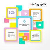Modern colors layout design, background, vector — Vettoriale Stock
