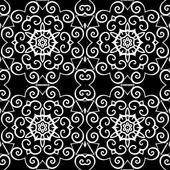 Beautiful Vintage backgrounds,seamless patterns, vector — Stok Vektör