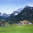 Little village between mountains — Stock Photo #43241293