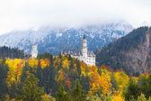 Neuschwanstein castle in Germany — Stock Photo