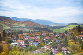Little village in the Alps — Stockfoto