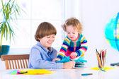 子供の宿題 — ストック写真