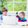 Kids with a laptop — Stock Photo #51346985