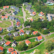 Village view from above — Stock Photo #51614549
