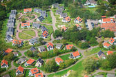 Village view from above — Stock Photo
