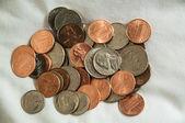 Monedas de los e.e.u.u — Foto de Stock
