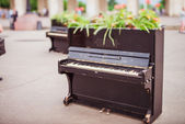 The piano in the Park — Stock Photo