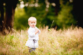 Ukrayna ulusal kostüm küçük çocuk — Stok fotoğraf