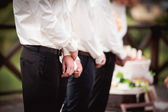 Witnesses at the wedding — Foto Stock