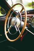 Old car wheel — Stock Photo