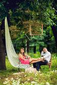 Beautiful couple in love — Stock Photo