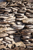 Stonework of decorative stone — Stock Photo