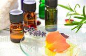 Essential oils for aromatherapy — Stock Photo