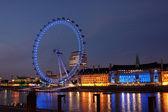 London Ferris Wheel — Zdjęcie stockowe